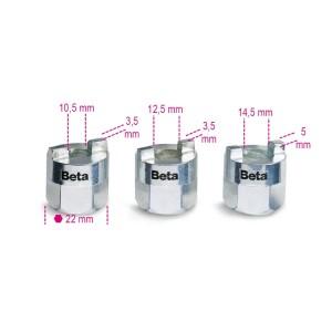 Set ghiere ammortizzatori 1557/S3 - BETA Utensili