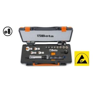 Set barra dinamometrica cricchetto e chiavi 671B/C5 - BETA Utensili