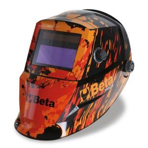 Maschera LCD ad oscuramento automatico