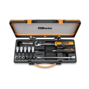 Set inserti e chiavi 920TX/C17 torx - BETA Utensili