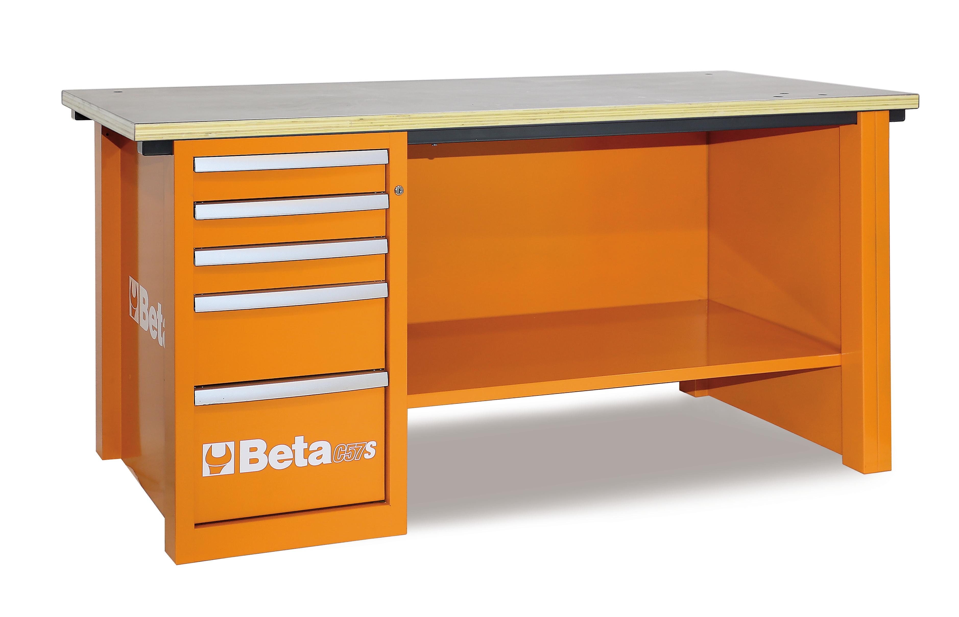 Banchi da lavoro C57S - 5700S - BETA Utensili