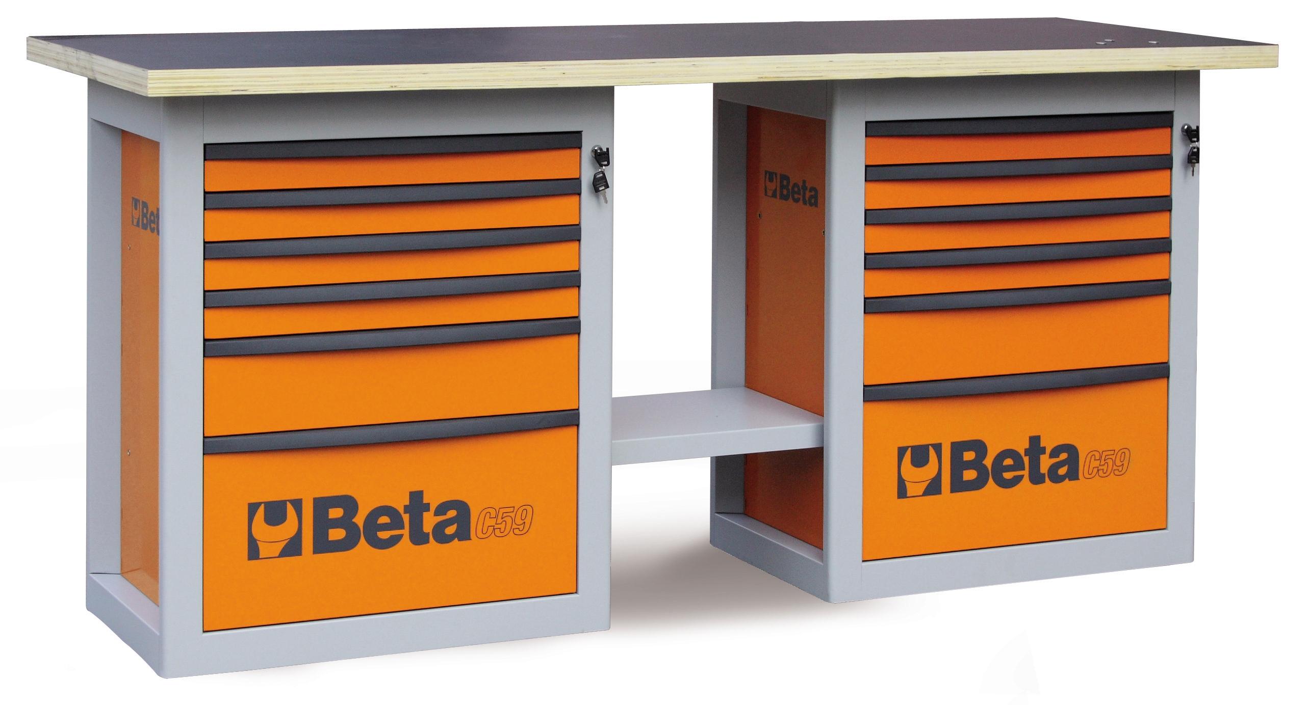 Banchi da lavoro C59B - 5900B - BETA Utensili