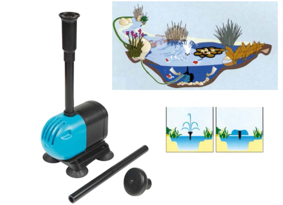 Pompe per fontane in vendita online remmtools for Pompe per laghetti artificiali