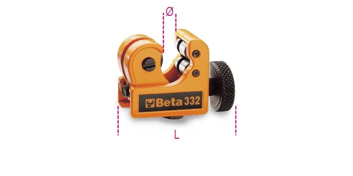 Mini tagliatubi 332 - BETA Utensili