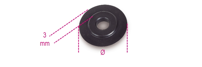 Coltello ricambio 338R - BETA Utensili