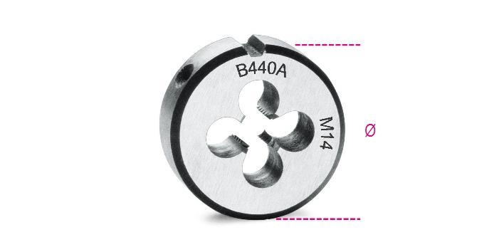 Filiere passo grosso 440A  - BETA Utensili