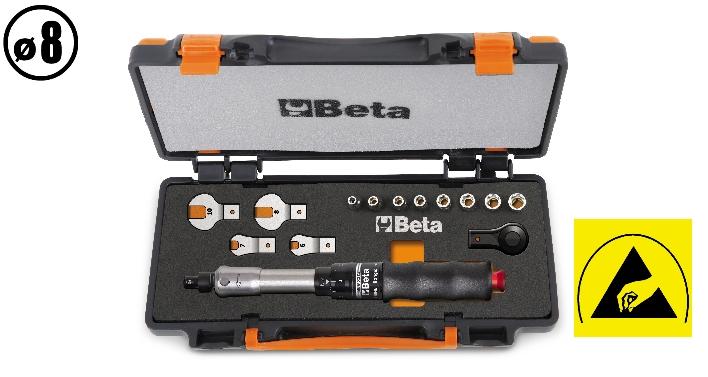 Set barra dinamometrica cricchetto e chiavi 671B/C10 - BETA Utensili