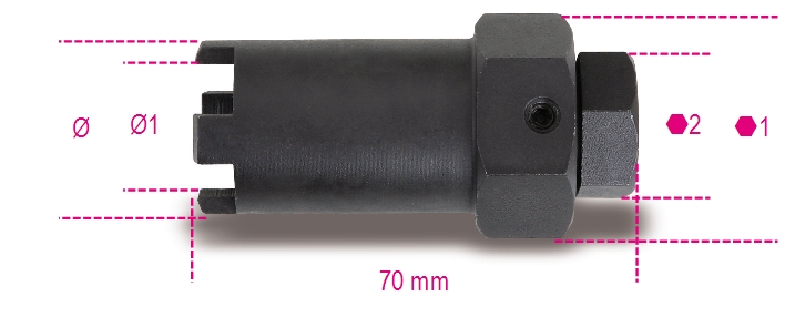 Chiavi per ghiere portainiettori 960F - BETA Utensili
