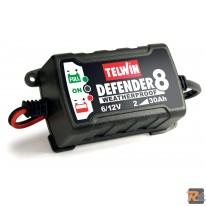 Caricabatterie e mantenitore di carica mod. DEFENDER 8 6-12V - TELWIN