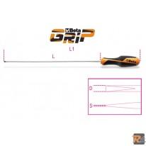 1264L - GIRAVITE PER VITI SENZA TESTA CON INTAGLIO TIPO LUNGO - 0.6x3x300