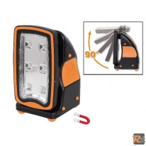 BETA TOOLS - 1838FLASH - FARETTO RICARICABILE ULTRACOMPATTO LED FLASH - 018380300 - BETA UTENSILI