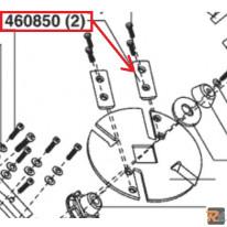 KIT 2 LAME PER BIOTRITURATORE NEWTEC 2400R - RICAMBIO ORIGINALE ALKO - AL-KO