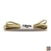 7399B/10:89 - CONFEZIONE 10 PAIA DI STRINGHE BEIGE - BETA UTENSILI