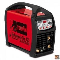 SALDATRICE TELWIN TECHNOLOGY TIG 222 AC/DC HF/LIFT VRD cod. 816033 - TELWIN