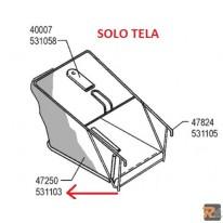Tela di ricambio per cesto rasaerba Sigma SL 50 BR - cod. 53110301 - AL-KO