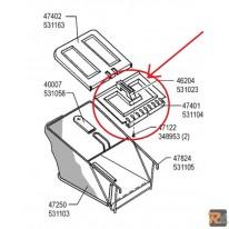 Parasassi di ricambio per cesto rasaerba Sigma SL 50  - cod. 531104 - AL-KO