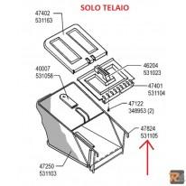 Telaio di ricambio per cesto rasaerba Sigma SL 50 BR - cod. 531105 - AL-KO