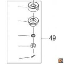 KIT FLANGE FRS 410, part. 49 cod. 462532 - AL-KO