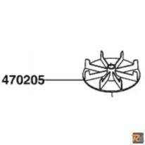 VENTOLA PER RASAERBA COMFORT 42E cod. 470205 - AL-KO