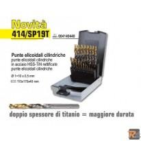 414/SP19T - Punte elicoidali cilindriche - BETA UTENSILI