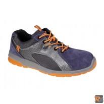 7313B scarpe in pelle scamosciata con inserti in nylon mesh e PU - S1P SRC - BETA UTENSILI