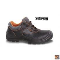 7220PE -  scarpe in pelle idrorepellente con inserti in nylon, copripuntale di rinforzo in poliuretano ed inserto rifrangente sul tallone - BETA UTENSILI