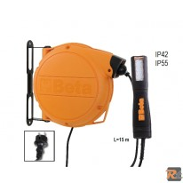1846LED/BM - Avvolgitore automatico completo di lampada a LED, 100-240Vac - BETA UTENSILI