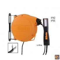 1846LED/ABM - Avvolgitore automatico completo di lampada a LED alimentazione 12-24V AC/DC - BETA UTENSILI
