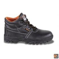 7243CR -  Scarpe alte in pelle idrorepellente con suola in gomma ad alta resistenza e rapido sfilamento - BETA UTENSILI