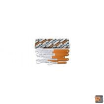 3952/S7 - SERIE CH.FORCHETTA SEMPLICI RIV.PVC /S7 - BETA UTENSILI