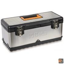 2117PLVU/1 - CESTELLO IN ACCIAIO INOX E MATERIALE PLASTICO