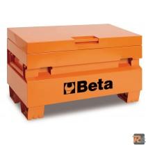C22P - Baule portautensili da cantiere, in lamiera 1220x720x615mm -