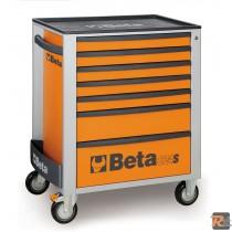 C24S/7 - 2400S7 - CASSETTIERA MOBILE CON SETTE CASSETTI - VUOTA - BETA UTENSILI