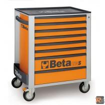 C24S/8 - 2400S8 1- CASSETTIERA MOBILE CON OTTO CASSETTI - VUOTA - BETA UTENSILI
