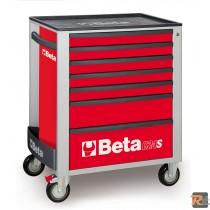 C24S/7 - 2400S7 - CASSETTIERA MOBILE CON SETTE CASSETTI - BETA UTENSILI