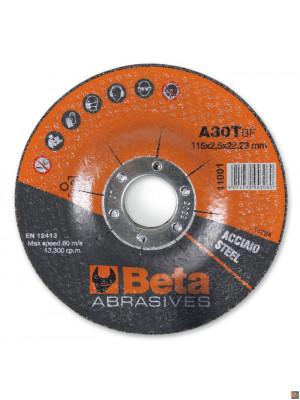 11001 115X3,2 - CF. 10PZ DISCHI TAGL. ACCIAIO 115X3,2 ø22,23 DS A