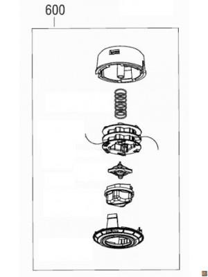 Testina filo per decespugliatore BC 225 L