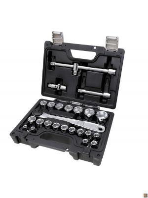 """Valigetta con 25 utensili - serie da 1/2""""  - 923ec25 easy"""