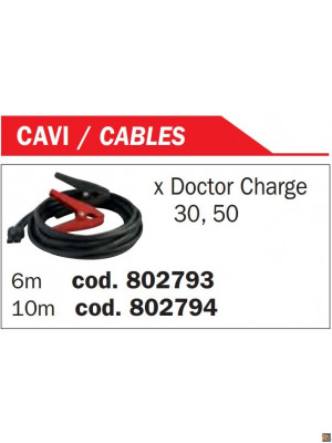 CAVO DI CARICA 6MT  x DOCTOR CHARGE - 802793