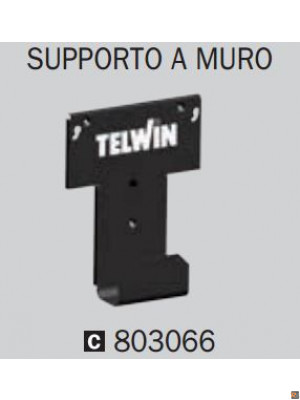 SUPPORTO A MURO x PULSE 30, 50, DOCTOR CHARGE 30, 50 - cod. 803066