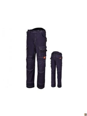7816BL - Pantaloni da lavoro multitasche