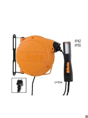 1846LED/BM - Avvolgitore automatico completo di lampada a LED, 100-240Vac