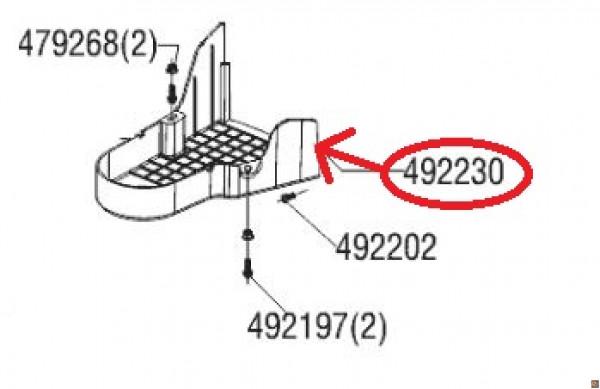 COPRICINGHIA DI RICAMBIO PER TOSAERBA ALKO 4.6 SP-S EASY COD. 492230