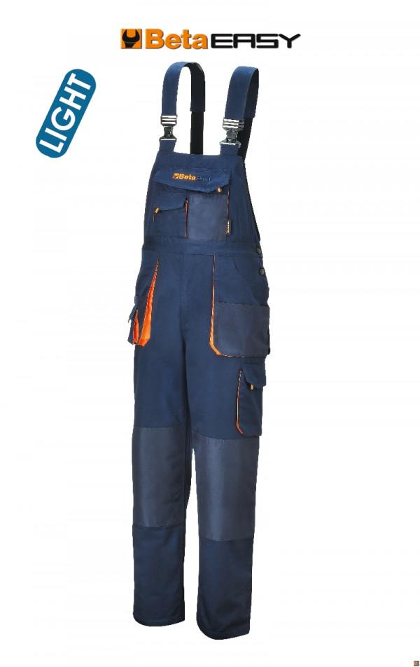 7873E SALOPETTE EASY TWILL 180GR BLUE