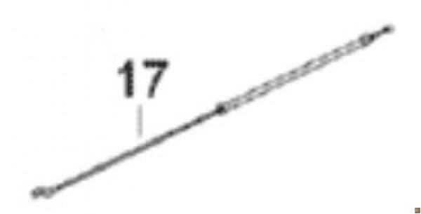 CAVO ACCELERATORE PER DECESPUGLIATORE SOLO 143L - part. 17 - SL2800597