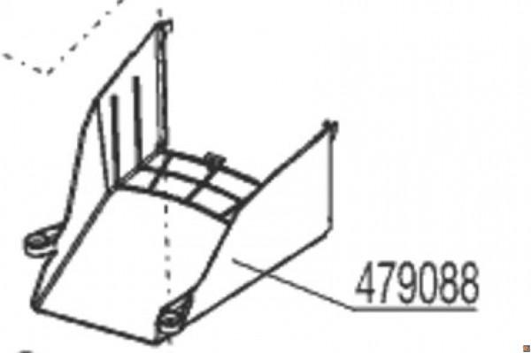 COPRICINGHIA RICAMBIO PER TOSAERBA ALKO 4.64 SP-S COD. 479088