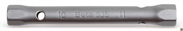935 - CHIAVI A TUBO DOPPIE ESAGONALI SERIE LEGGERA - 18X19