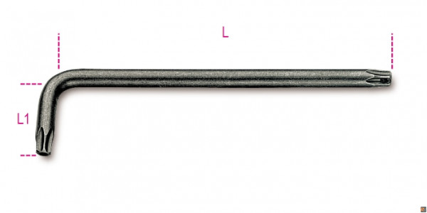 CHIAVI MASCHIO PIEGATE 97RTX Misure - T40