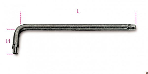 CHIAVI MASCHIO PIEGATE 97RTX Misure - T15